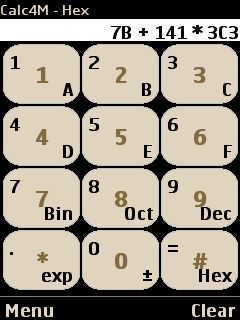Binary/hexadecimal